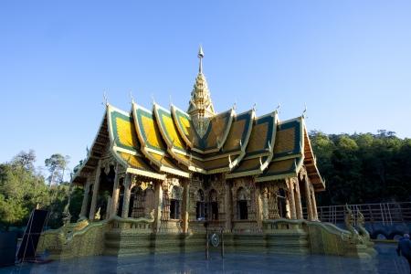 reconstruct: Wat Prabudabath Si Roi  Mae Rim, Chiang Mai  Thailand