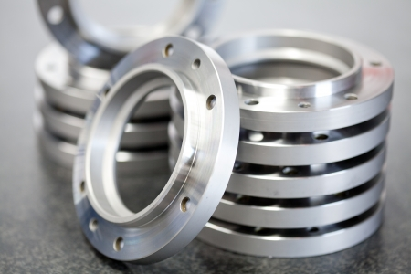 manufacturing materials: Workpieces Stock Photo