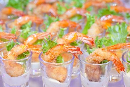 shrimp tempuras european style  Stock Photo