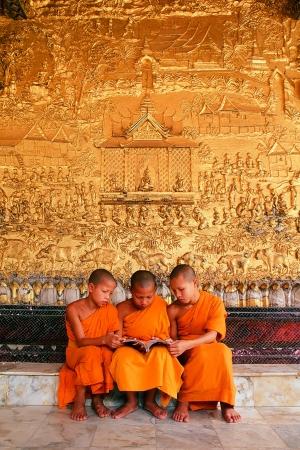 Wat Xieng Thong World Heritage City Priests studied theology  Sajtókép