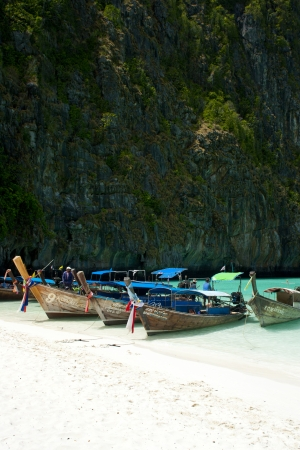 Hat Noppharat Thara Mu Ko Phi Phi National Park  Krabi Thailand  photo