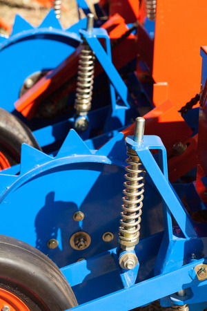The rubber wheels and a gear drive  photo