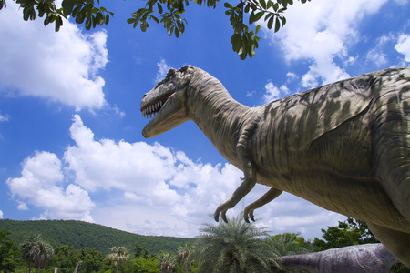 Phu Wiang Dinosaur Museum Wiang Kao district, Khon Kaen province.Thailand, Phu Wiang National Park had been established in 1991