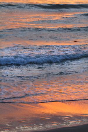 sea sunset landscape image photo