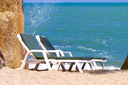 koh samui: Location sunny beach of Koh Samui