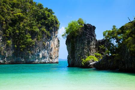 koh lao bi le ( koh hong ) than bok khorani national park krabi thailand. Banco de Imagens