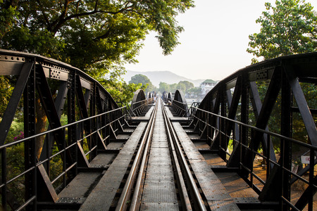 kanchanaburi: Bridge on the river kwai, Kanchanaburi province,Thailand