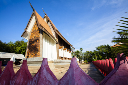 Sala Loi Temple located at Nakhon Ratchasima is an old temple at the Thao suranari, built after the battle an army of Chao ANU. In 2370 Stock Photo