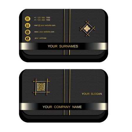 Modern  business  card ,name card  help your company,your enterprise illustrious,famous,popular and well-known, art and background.Illustration
