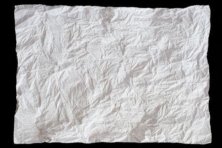 foglio bianco: foglio di carta bianca su sfondo nero