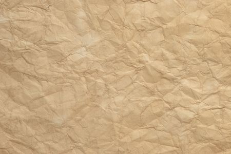 texture of old rumpled paper Stock Photo