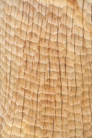 elaboration: texture of wood after elaboration