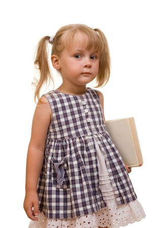 seus cute girl with book Stock Photo - 1952348