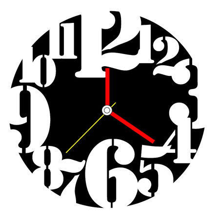 Creative clock design.