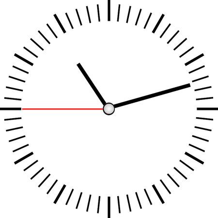 Reloj vector Foto de archivo - 34125069