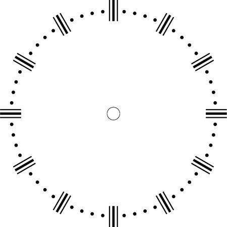 Reloj blanco Foto de archivo - 36427184