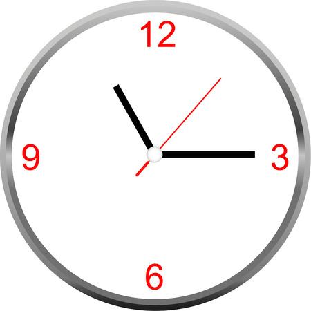 Reloj vector Foto de archivo - 42245790