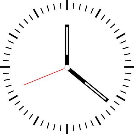 Reloj vector Foto de archivo - 43637041