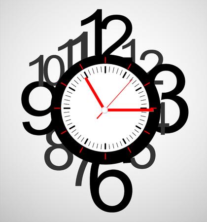 creative design: Creative clock design.