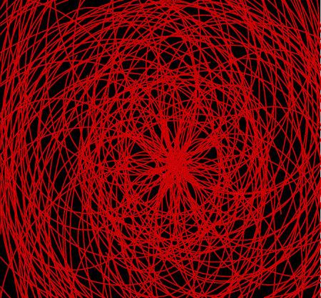 s trap: spider web background
