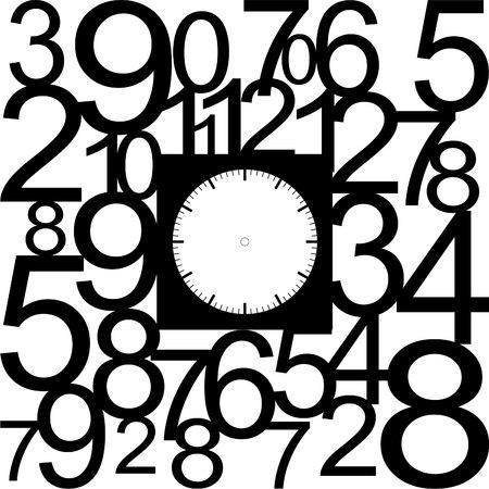 orologio da parete: orologio faccia vuota
