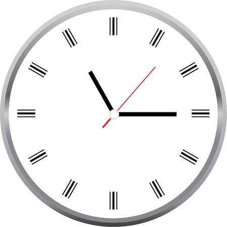 Reloj del vector Foto de archivo - 76157707