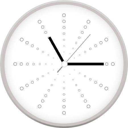 Reloj del vector Foto de archivo - 76157718