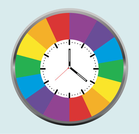 Diseño de reloj creativa. Foto de archivo - 79961454