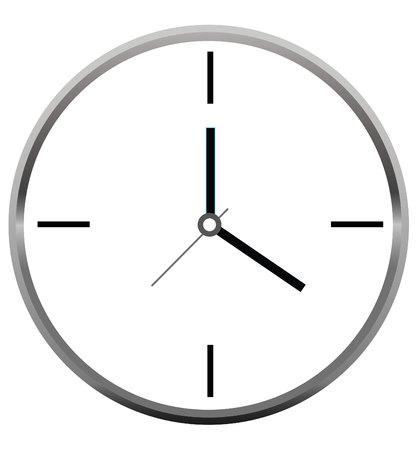 Reloj del vector Foto de archivo - 79961459