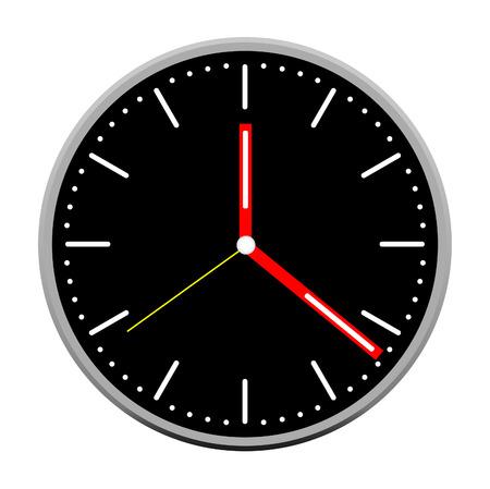 Vector de la cara del reloj Foto de archivo - 79961456