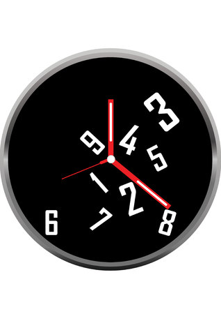 clock face vector