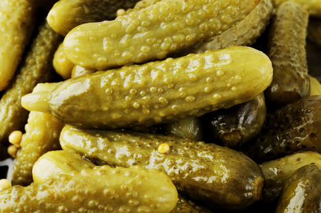 pickle cucumber Stock Photo