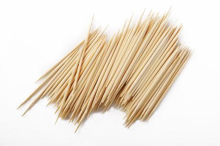 toothpick: Toothpick stick on white background
