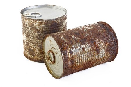 rust: rust cans Stock Photo