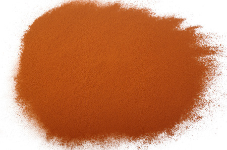 dry powder: dry powder cocoa background