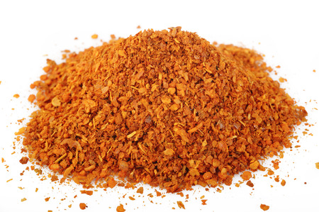 cayenne: cayenne pepper on white background Stock Photo