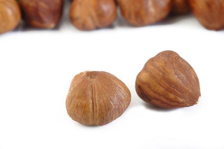 hazelnuts: avellanas peladas