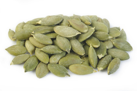 Roasted pumpkin seeds with salt