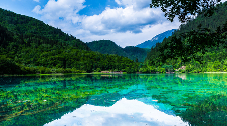 Jiuzhaigou 版權商用圖片