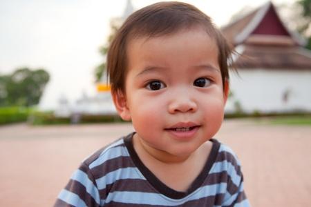 The boy Smile a cute Stock Photo - 13261418