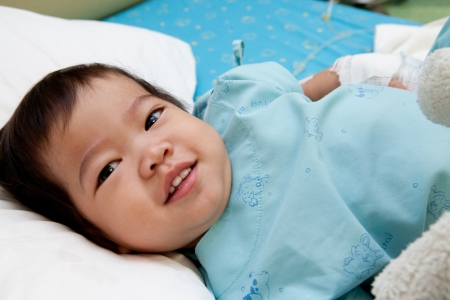 boy in hospital Stock Photo - 13805683
