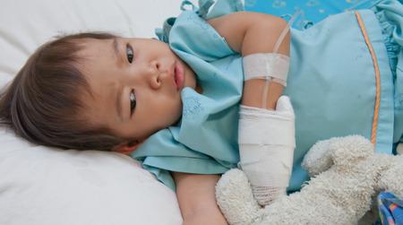 hospital patient: boy patient in hospital