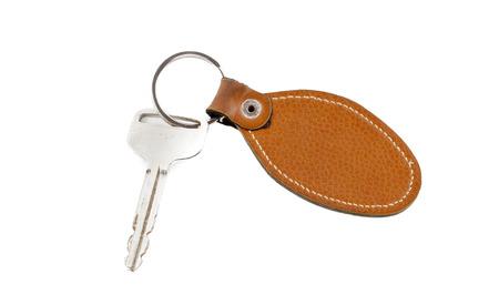 car keys  isolated on white background photo