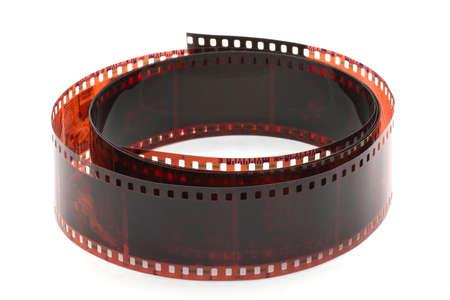 rollo pelicula: película fotográfica enrollada en un rollo