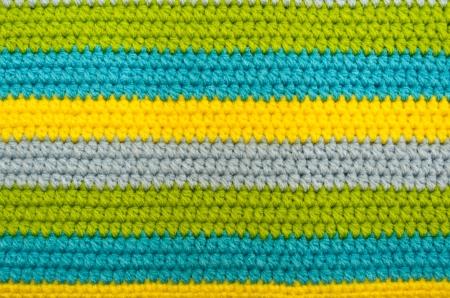 closed up crochet pattern