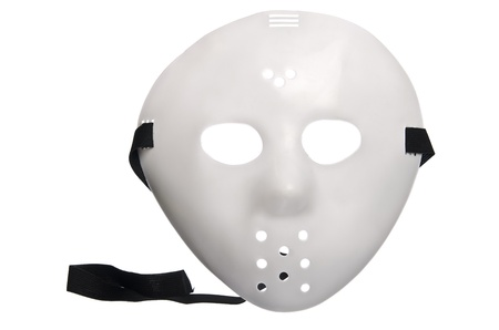 Scary Halloween Hockey Mask photo