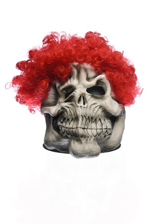 Red Hair Ghost Mask photo
