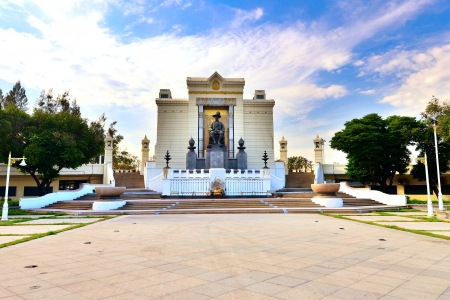 Statue of King Rama 1 of Thailand