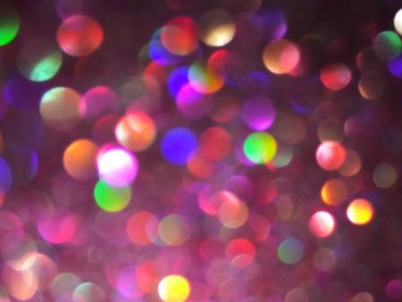 Christmas multicolor bokeh Background Reklamní fotografie