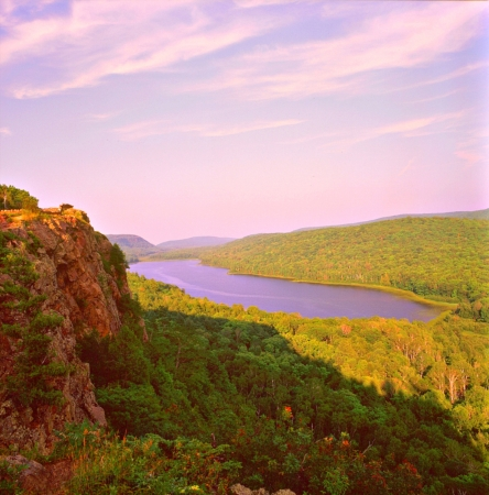 upper peninsula: Lake of the Clouds Porcupine Mountains State Park  Upper Peninsula,MI